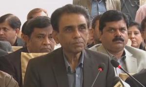 خالد مقبول صدیقی نے وفاقی کابینہ سے علیحدہ ہونے کا اعلان کردیا