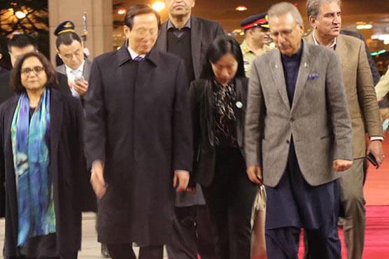 صدر عارف علوی چین کے دورے پر بیجنگ پہنچ گئے