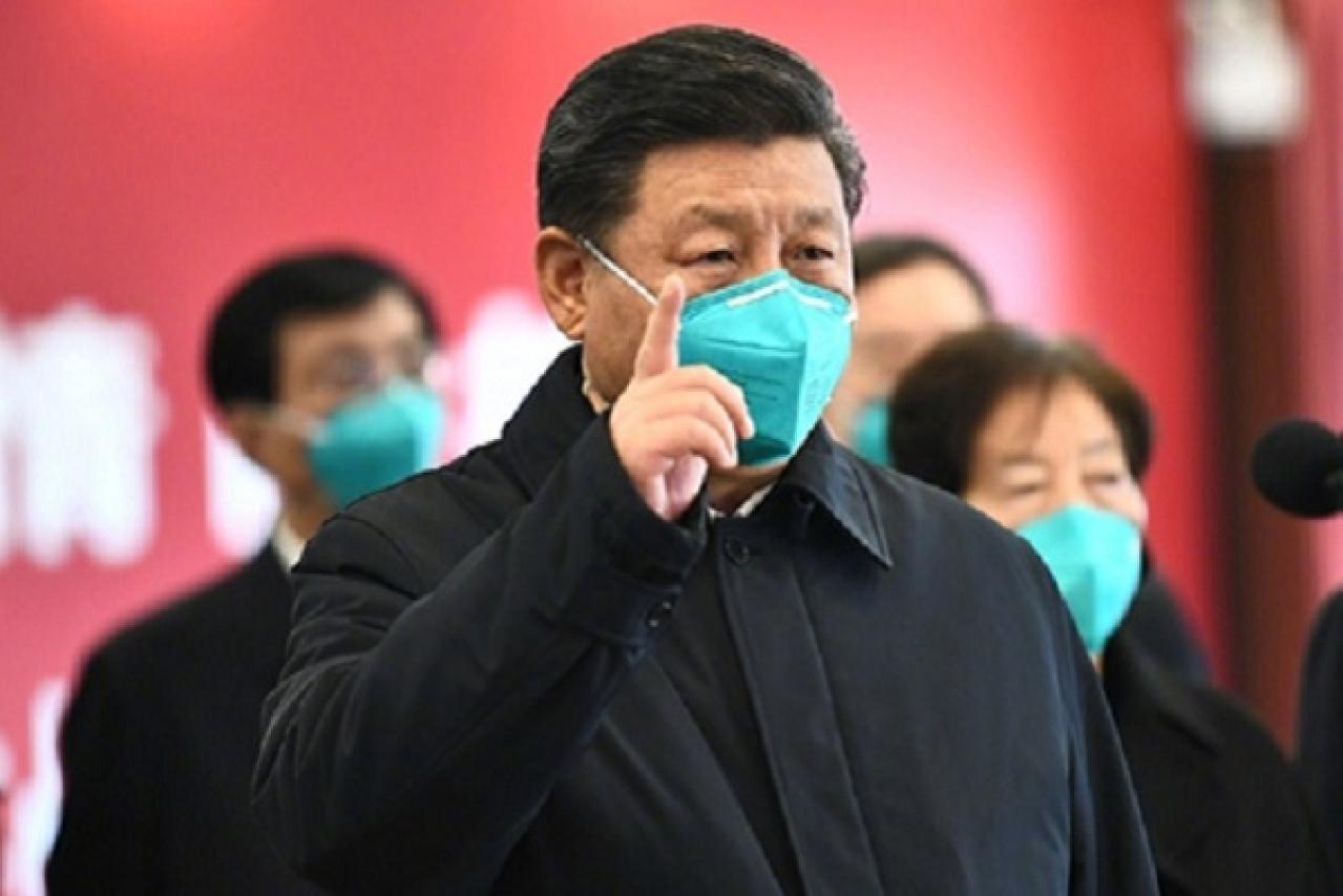 چین کے صدر شی جن پنگ کا ( ووہان ) کا دورہ جہاں سے وائرس دنیا بھر میں پھیلا