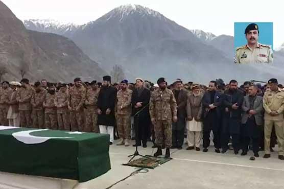 کرنل مجیب الرحمان شہید کی نماز جنازہ ادا کر دی گئی