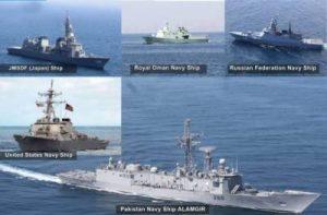 پاک بحریہ کا ریجنل میری ٹائم سیکیورٹی پیٹرول کے دوران دوطرفہ بحری مشقوں کا انعقاد