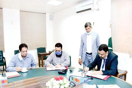 جامعہ کراچی اور این ٹی ایس لاجسٹک کے مابین معاہدہ